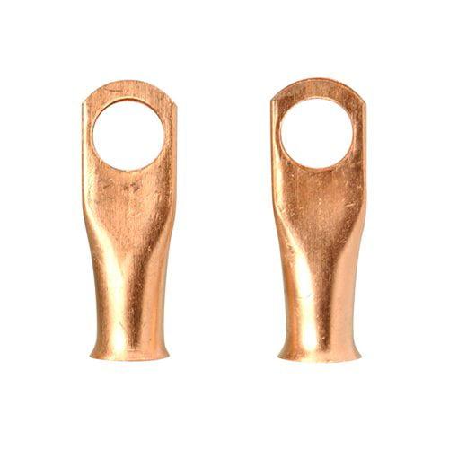 Everstart 1810-2W 4-6-Gauge 3/8-Inch Copper Lugs, 2-Pack
