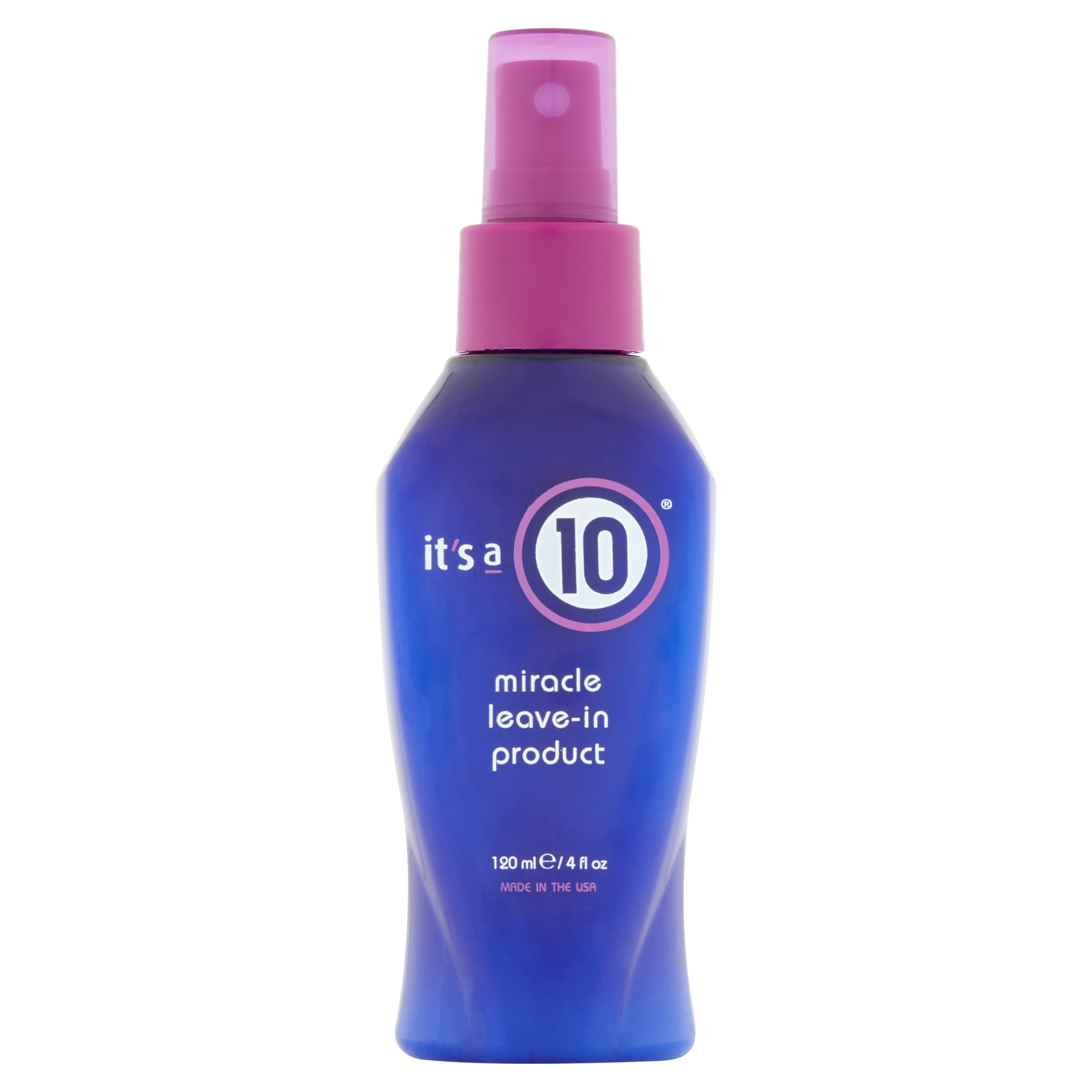 It's a 10 Miracle Leave-In Product, 4.0 Fl Oz