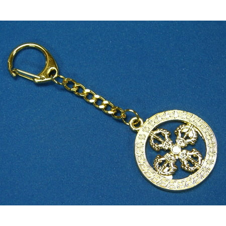 Cross Vajra Key Chain - Cross Key Chains