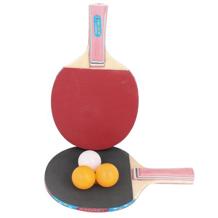 Unique Bargains 2-Player Classic Rubber Coated Penhold Table