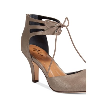 Style & Co. Womens Vanaa Closed Toe Ankle Strap D-Orsay Pumps