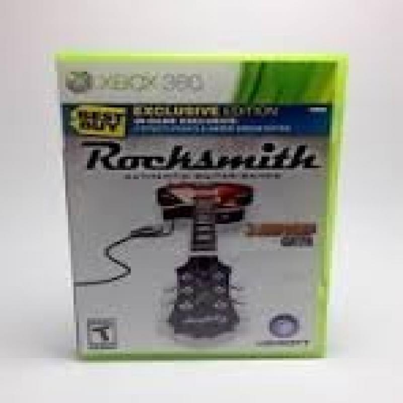 Rocksmith Best Buy Exclusive Edition - Xbox 360, Software Only.