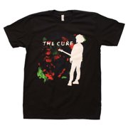 Rockline BRA-11121015-L The Cure Boys Dont Cry Adult Mens T-Shirt, Black - Large