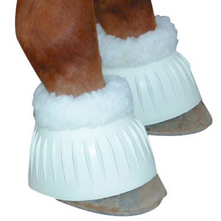 - Intrepid International Fleece Lined Bell Boot - Small White