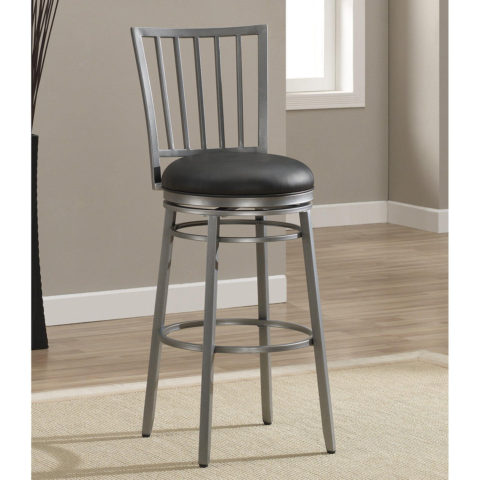 Charmant AHB Easton Bar Stool   Flint   Walmart.com