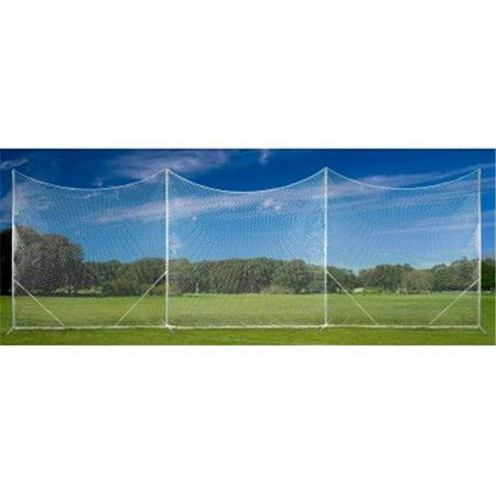 30 x 10 Multi-Sport Backstop Net (Baseball Chain Link Backstop)