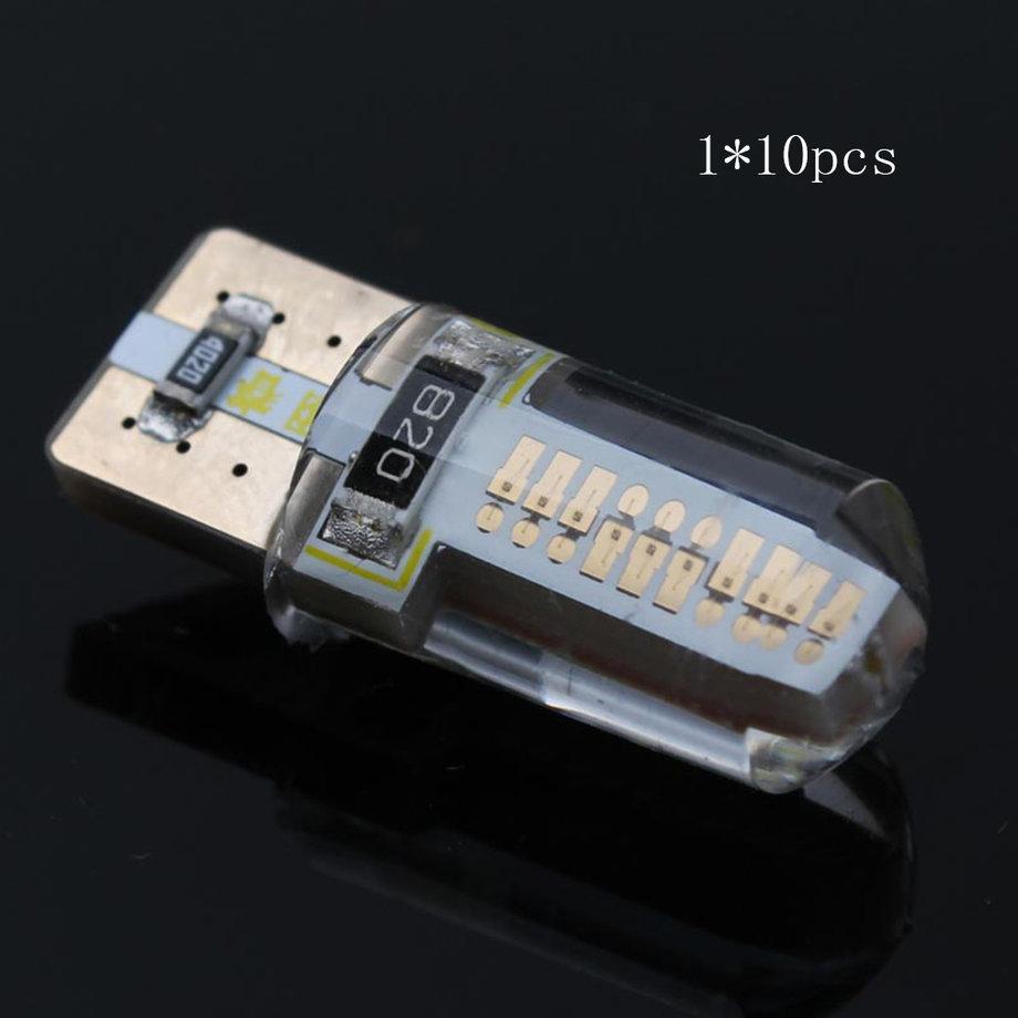 10pcs T10 18 LED Lamp Silicone 12V 3W High Quality Flood Corn LED Light Bulb