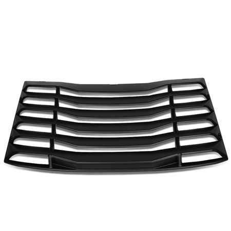 For 2016 to 2019 Chevy Camaro Coupe Rear Window Vent Louver Style Windshield Sun Shade Cover Assembly 17