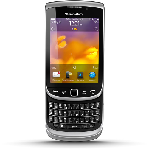 BlackBerry Torch 9810 GSM Cell Phone, Grey (Unlocked)