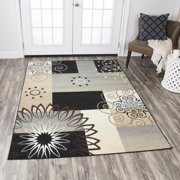 Rizzy Home XI6937 Gray 8' x 10' Power-Loomed Area Rug