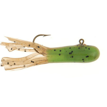 Berkley Pre-Rigged Atomic Tube 1/32-Ounce Soft Bait, Grasshopper