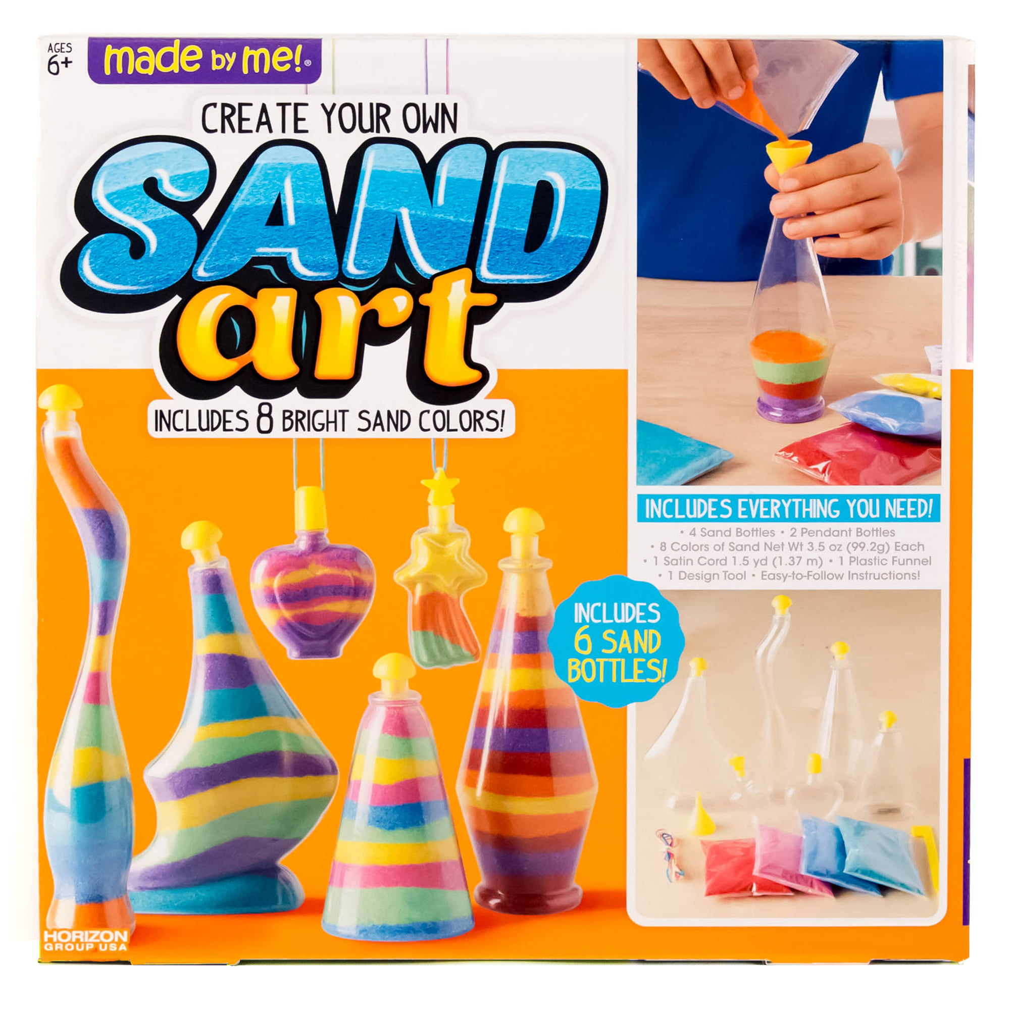 Made by Me Sand Art Activity Kit by Horizon Group USA by Horizon Group USA