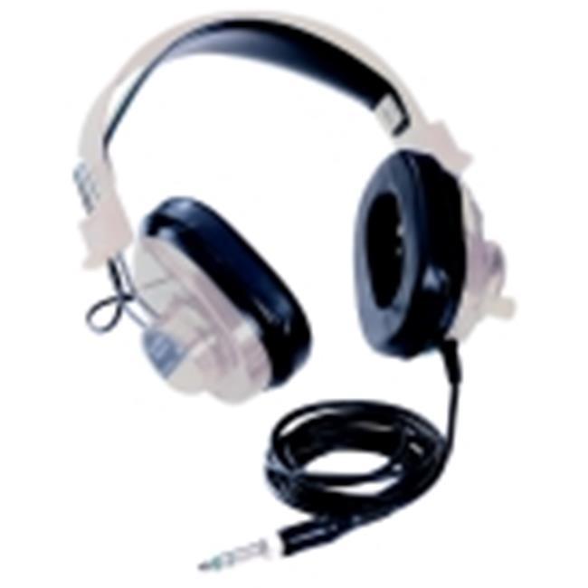 Califone 20 Mw Stereo Headphone With 6 Ft.  Cord, Beige