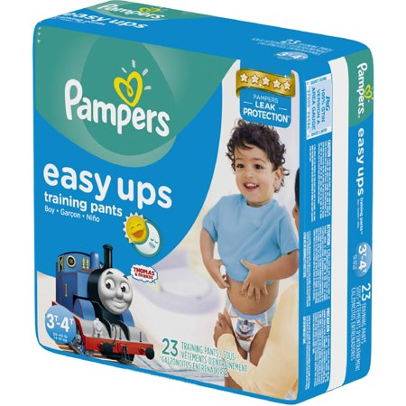 Pampers Easy Ups Training Pants Boys Size 5 30-40 LBS 23 Each [4 packs per case] (Pack of 3) - Walmart.com