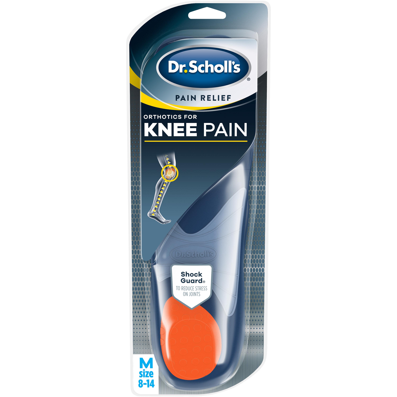 Dr. Scholl's KNEE Pain Relief Orthotics, 1 Pair (Men's 8-14)