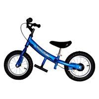 Mini Glider Kids Balance Bike with Patented Slow Speed Geometry (Blue)