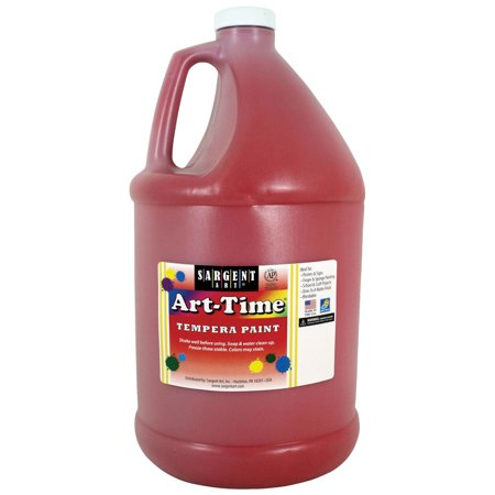 Art-Time® Tempera Paint, Red - Gallon