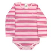 Pulla Bulla Toddler Long Sleeve Stripe Bodysuit for ages 1-3 years