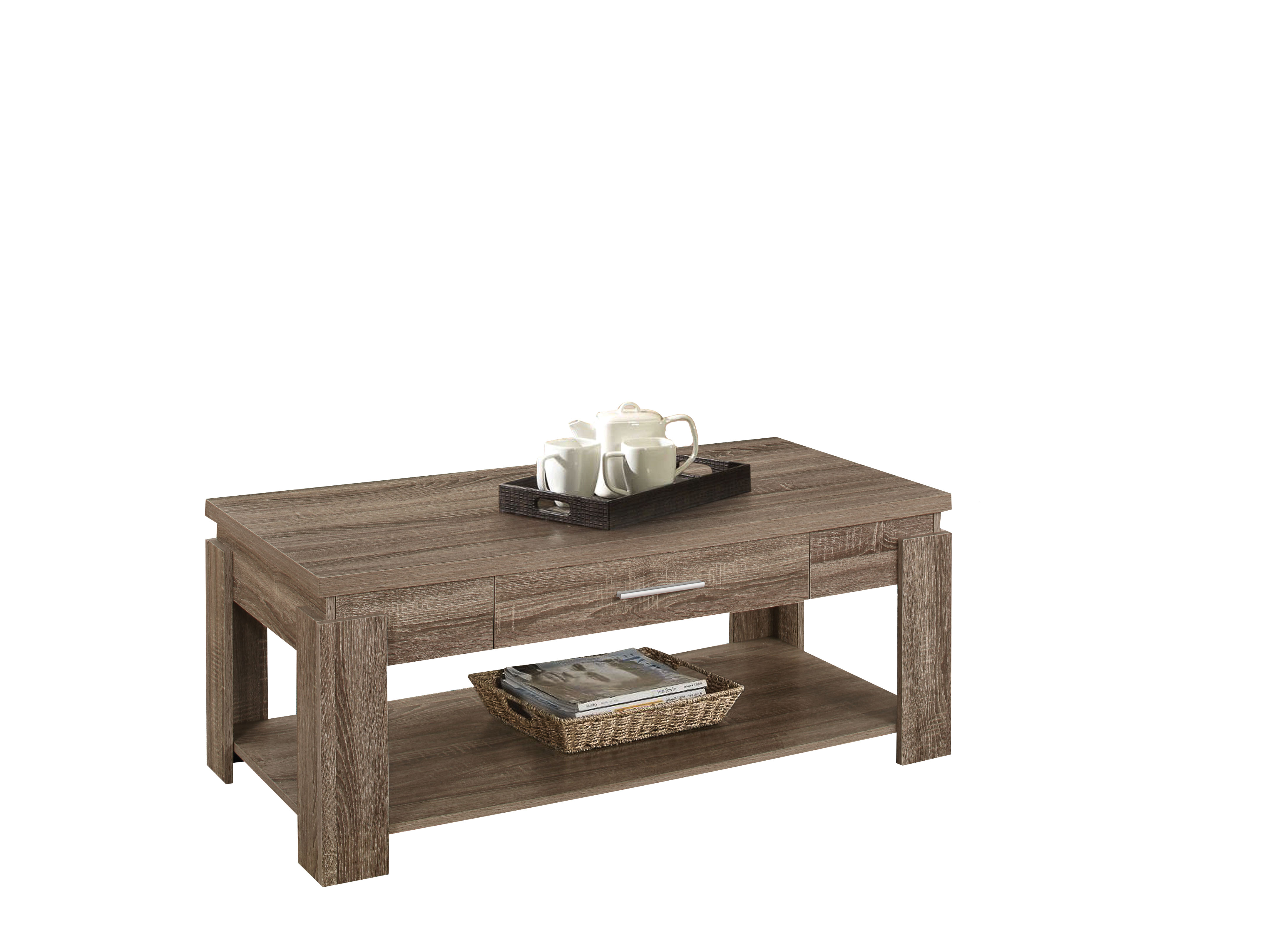 ACME Xanti Coffee Table, Dark Taupe by Overstock
