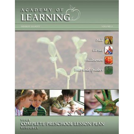 Academy of Learning Your Complete Preschool Lesson Plan Resource - Volume 2 - Halloween High School English Lesson Plans