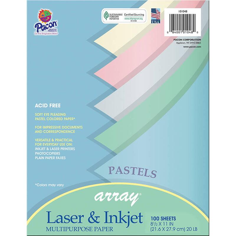 (3 Pk) Array Pastel Color Paper - image 1 de 1