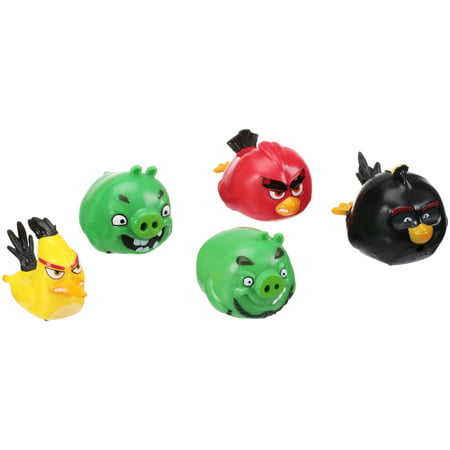 Angry Birds™ Angry Speedsters™ Figures 5 pc - Angry Birds Party Ideas