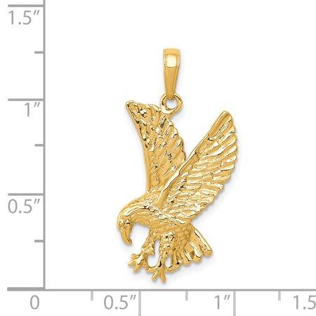 14K Yellow Gold Eagle Charm - image 1 de 2