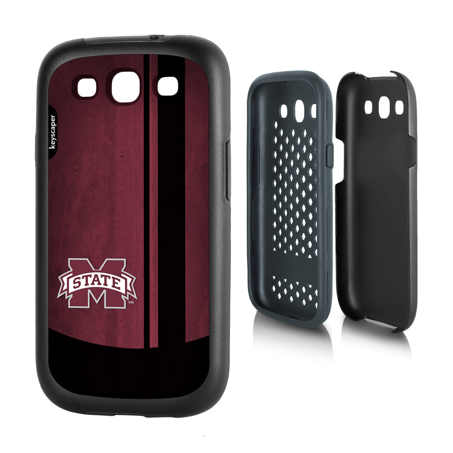 Mississippi State Bulldogs Galaxy S3 Rugged Case