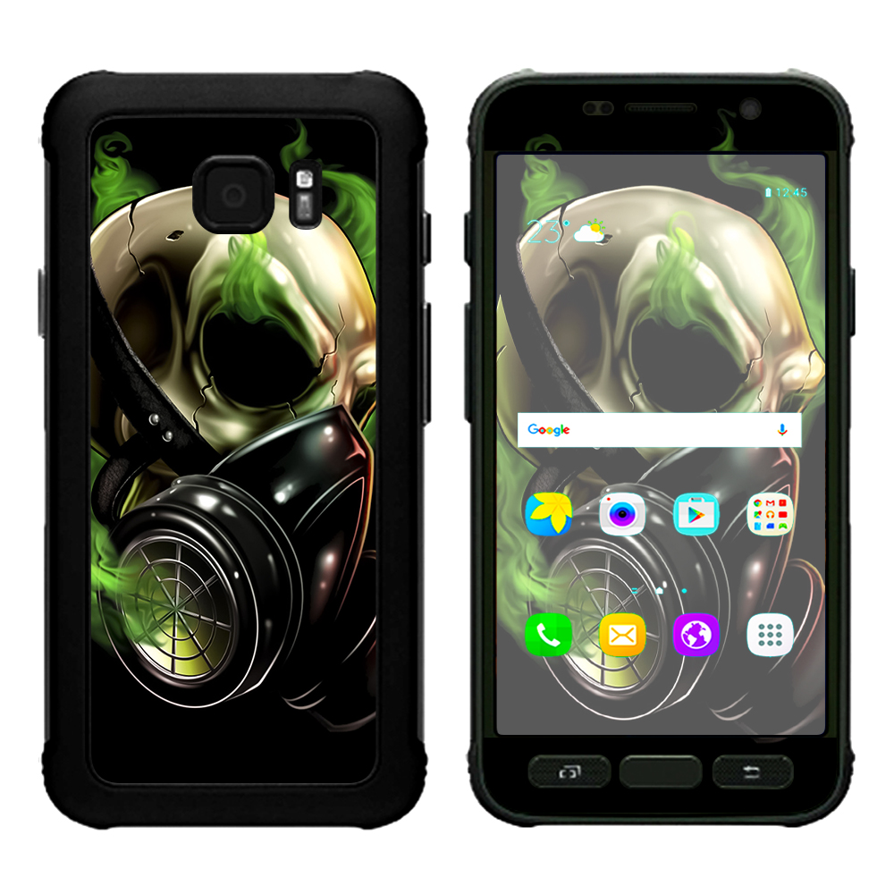 Skins Decals For Samsung Galaxy S7 Active   Gas Mask Skeleton by Itsaskin