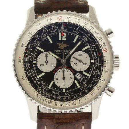 Pre-Owned Breitling Navitimer A41322 Steel  Watch (Certified Authentic & Warranty) Breitling Navitimer Slide Rule