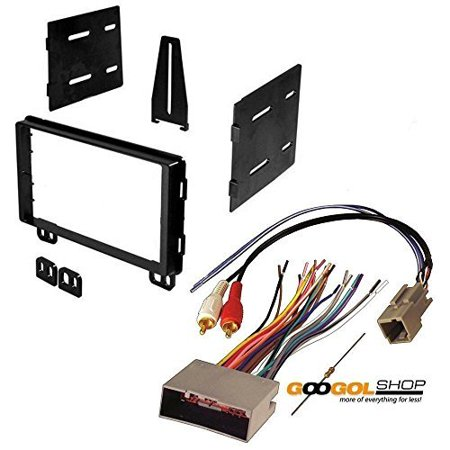 ford 2004 - 2005 explorer (with factory subwoofer) car stereo dash install mounting kit wire (Mount Kit Explorer)