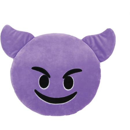 Emoji Large Pillow, Smiling Face With - High Five Emoji