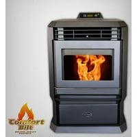 ComfortBilt HP61 Pellet Stove Charcoal