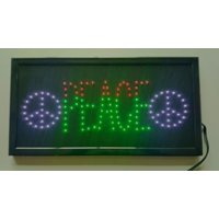 Electrical Peace LED Sign
