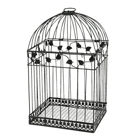 Birdcage Card Holder (Fun Express - Black Birdcage Card Holder for Wedding - Home Decor - Gifts - Wedding & Bridal - Wedding - 1)