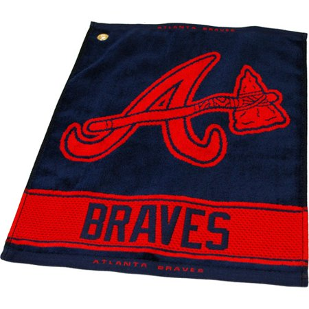 Team Golf 95180 MLB Atlanta Braves - Woven Towel