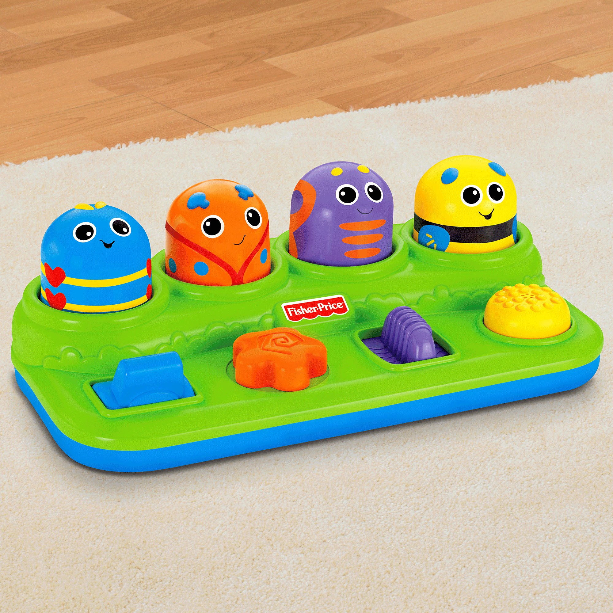Fisher Price Brilliant Basics Boppin Activity Bugs by Fisher-Price
