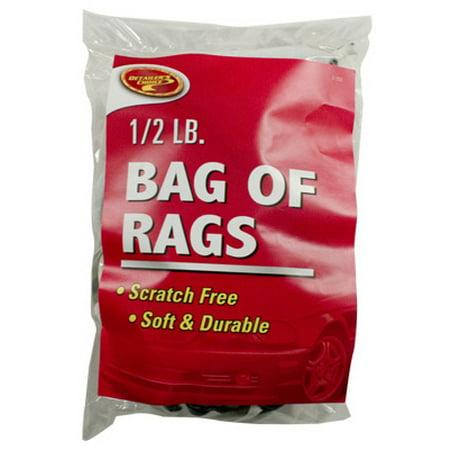 - CLEAN RITE/BLAZER INTERNATIONAL Bag of Rags Cleaning Cloths, 1/2-Lb.