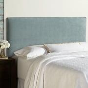 Humble and Haute Humble + Haute Bingham Blue Velvet Upholstered Headboard