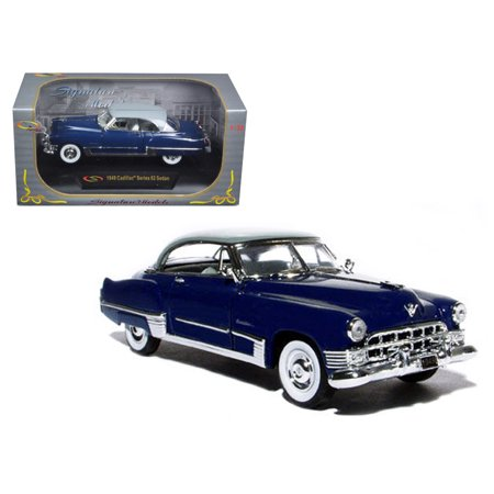 Navy Series Car (1949 Cadillac Series 62 Sedan Dark Blue 1/32 Diecast Model Car by Signature)