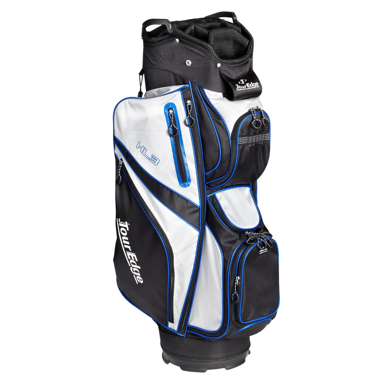 Tour Edge HL3 Golf Cart Bag Black/Silver/Royal