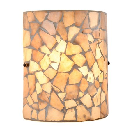 CHLOE Lighting KAI Mosaic 1 Light Indoor Wall Sconce 8