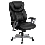 Flash Furniture Hercules Series 400 Lb Capacity And Tall Black Leather Executive Swivel Office Chair