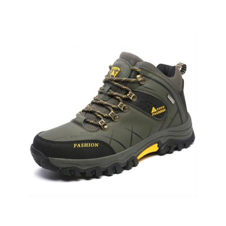 79eec8c8004 Winter Mens Big Size Trail Hiking Boots Waterproof Athletic Non Slip  Outdoors Shoes