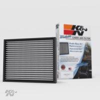K&N Cabin Air Filter: Washable and Reusable: Designed For Select 2005-2019 Toyota Tacoma, 1999-2002 Subaru Liberty, 2003-2008 Pontiac Vibe Vehicle Models, VF2005