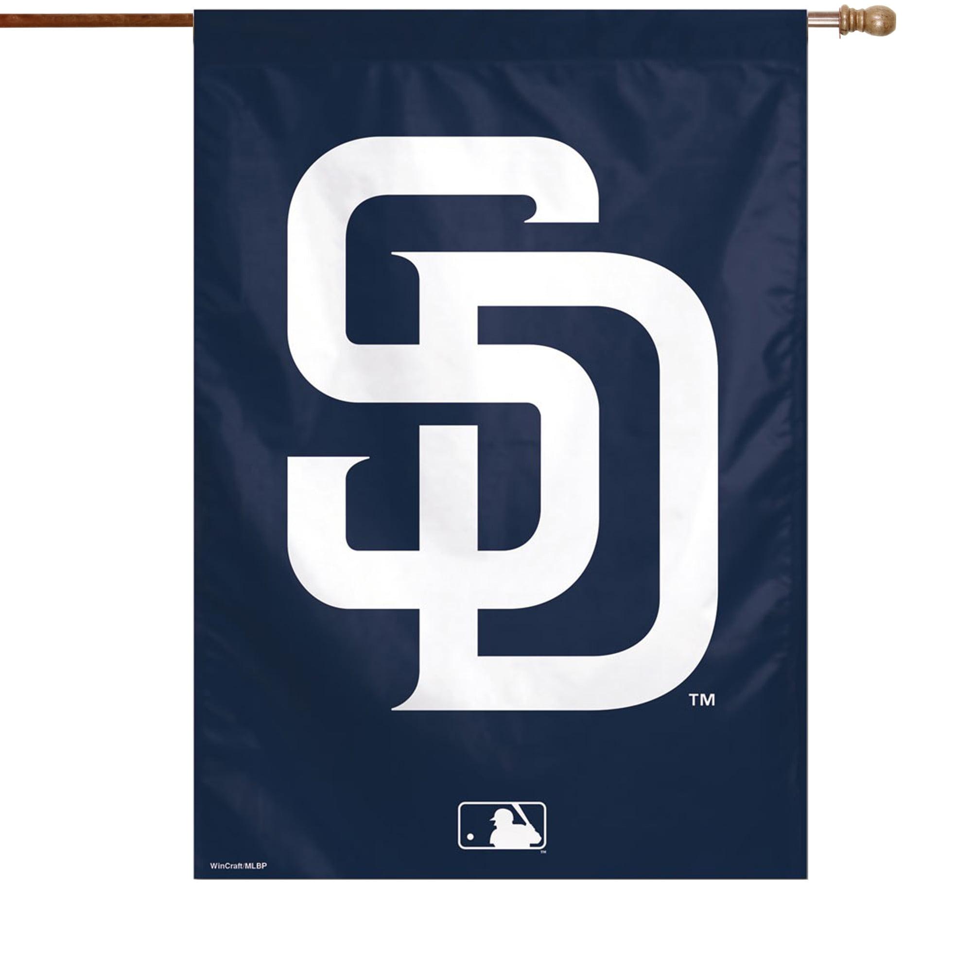 "San Diego Padres WinCraft 28"" x 40"" Big Logo House Flag - No Size"