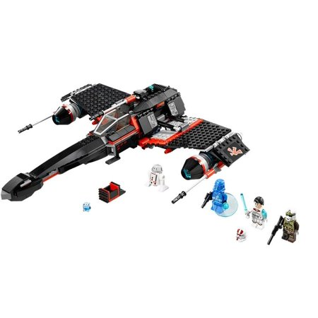 LEGO® Star Wars™ Jek-14's Stealth Starfighter with 4 Minifigures | (Stealth Jam Block)