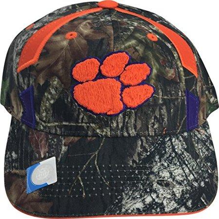 uk availability c1950 e459c NCAA Clemson Tigers Mossy Oak Elite Full Camo Adult Men  39 s Cap Hat -  Walmart.com