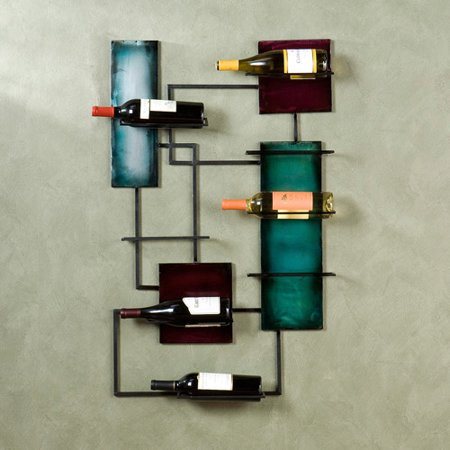 Southern Enterprises Abstract Wine Storage Wall Sculpture