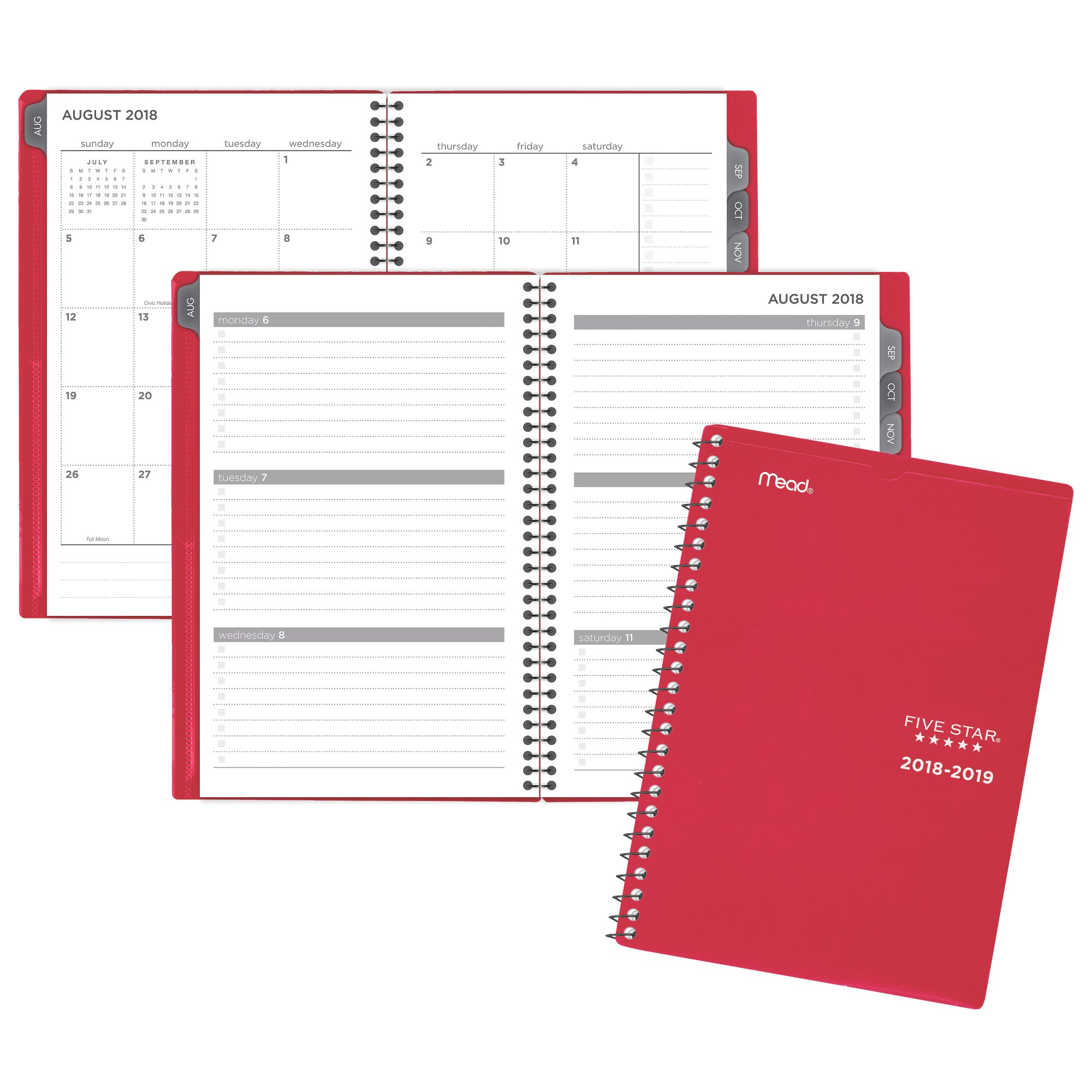 Five Star Customize Weekly-Monthly Student Planner - Student Planners